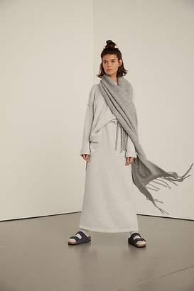 Jaden Ribbed Fringe Blanket Scarf