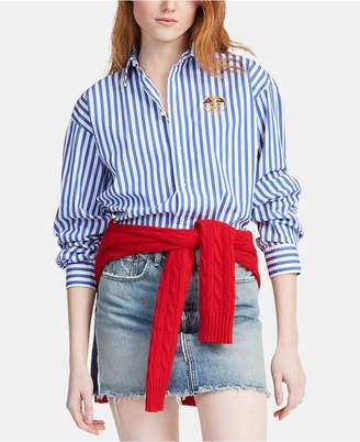 Polo Ralph Lauren Striped Cotton Boyfriend Shirt