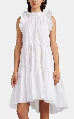 Ulla Johnson Women's Tamsin Embroidered Cotton Dress - White