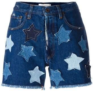 Faith Connexion star denim shorts