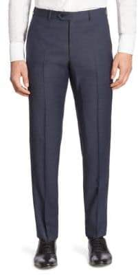 Giorgio Armani Slim-Fit Virgin Wool Suit Pants