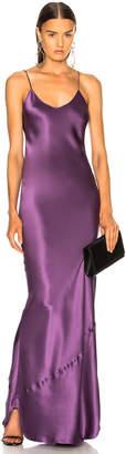 Nili Lotan Cami Gown in Lilac | FWRD