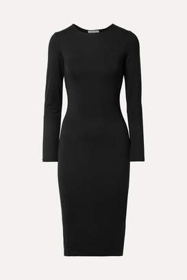 Ninety Percent - Stretch-jersey Dress - Black