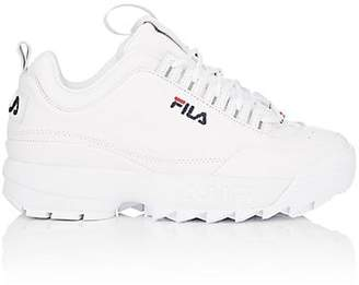 Fila Women's Disruptor 2 Lux Leather Sneakers - White