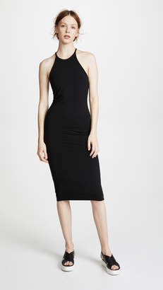 Alexander Wang Stretch Jersey T Back Midi Dress