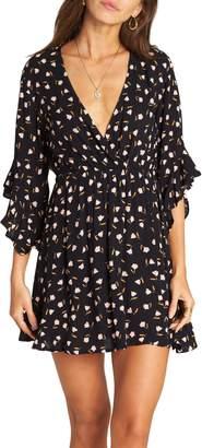 Billabong Love Light Floral Print Dress