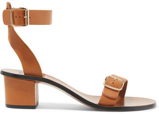 Atelier ATP Carmen Leather Sandals - Tan