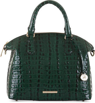 Brahmin La Scala Duxbury Embossed Leather Satchel