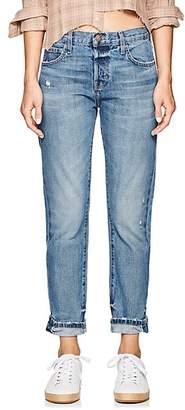 Current/Elliott Women's The Selvedge Taper Jeans - Blue