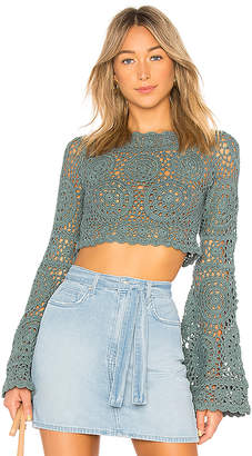 Majorelle Harvest Crop Top