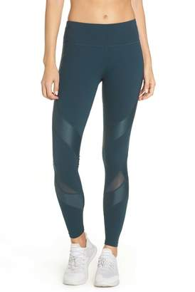 Sweaty Betty Power Wetlook Mesh Workout Leggings