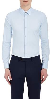 Paul Smith Men's Cotton-Blend Poplin Dress Shirt - Blue