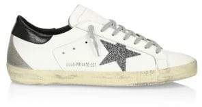 Golden Goose Men's Men's Superstar Leather Sneakers - White - Size 41 (8)