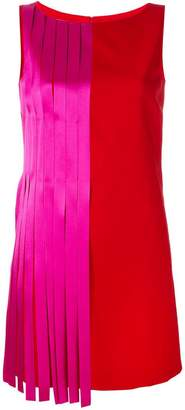 Versace colour block mini dress