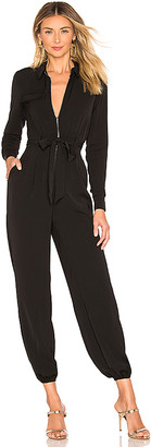 superdown Jazmin Zip Up Jumpsuit