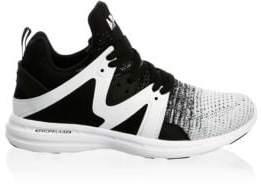 Athletic Propulsion Labs Athletic Propulsion Labs Women's Ascend Mesh Running Sneakers - Black Heather Grey - Size 5