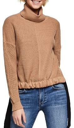 BCBGeneration Drawstring Turtleneck Sweater