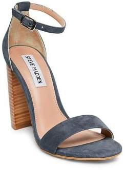 Steve Madden Carrson Suede Ankle-Strap Sandals