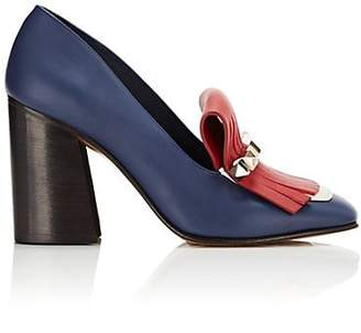 Valentino Women's Uptown Leather Pumps - Blue