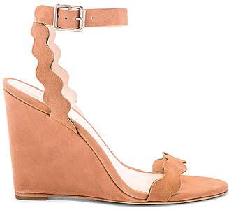 Loeffler Randall Piper Ankle Strap Wedge Sandal