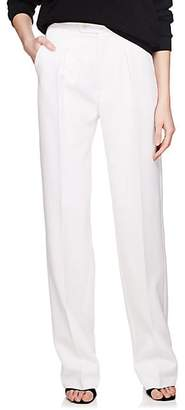 Givenchy Women's Wool High-Waist Trousers - White