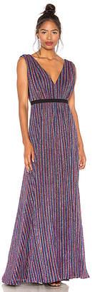 BCBGMAXAZRIA Multicolored Knit Dress
