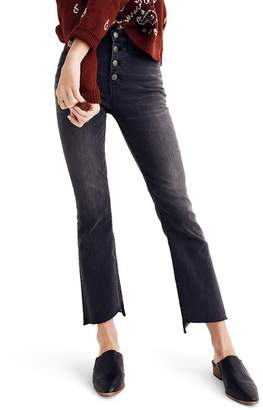 Madewell Cali Demi Bootcut Crop Jeans