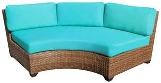 Sol 72 Outdoor Waterbury Sofa with Cushions