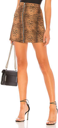 by the way. Macey Zip Mini Skirt