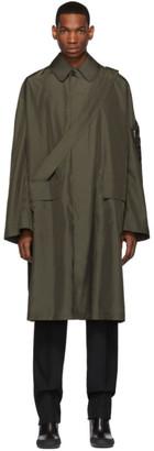 Random Identities Bronze Satin Overcoat