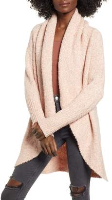 Leith Shawl Collar Boucle Cocoon Cardigan