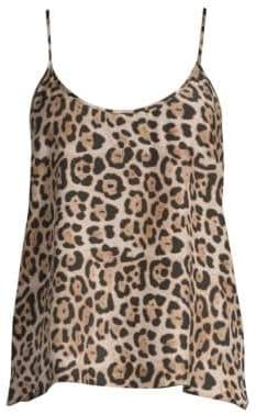 ATM Anthony Thomas Melillo Women's Leopard Print Silk Cami - Leopard Print - Size XS