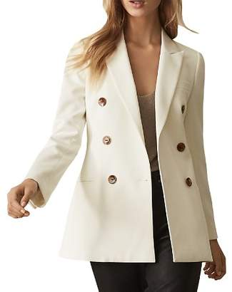 Reiss Aleida Double-Breasted Blazer