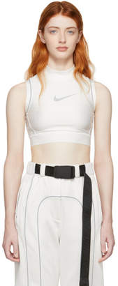 Nike White Ambush Edition NRG Crop Tank Top
