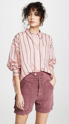 Etoile Isabel Marant Ycao Button Down Shirt