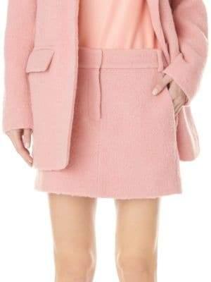 Tibi Women's Tweed Mini Skirt - Pink Haze - Size 8