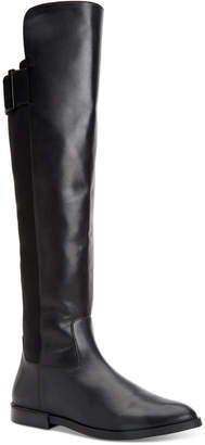 Calvin Klein Priya Wide Calf Over-The-Knee Boots Women Shoes
