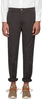 Visvim Black Slim Chino Trousers