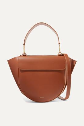 Hortensia Wandler Medium Leather Shoulder Bag - Tan