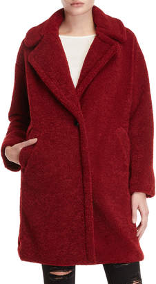 KENDALL + KYLIE Teddy Bear Oversized Coat