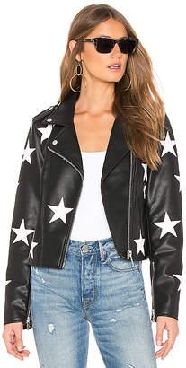 Blank NYC BLANKNYC Star Vegan Leather Jacket
