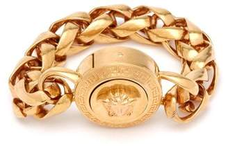 Versace Medusa Chain Bracelet - Womens - Gold