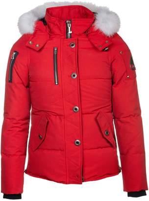 Moose Knuckles Fur Hooded Down Jacket