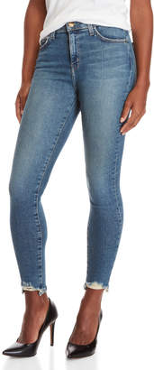 Current/Elliott Super High-Waisted Stiletto Jeans