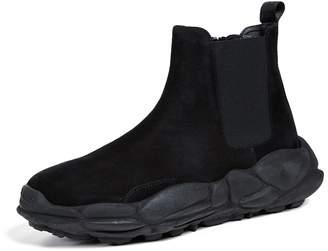 Versace Suede Sneaker Boots