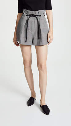 3.1 Phillip Lim Pleated Shorts with Ties