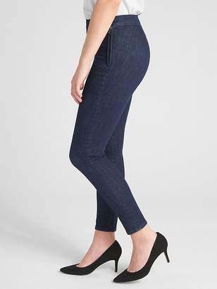 Gap High Rise Side-Zip True Skinny Ankle Jeans in Sculpt