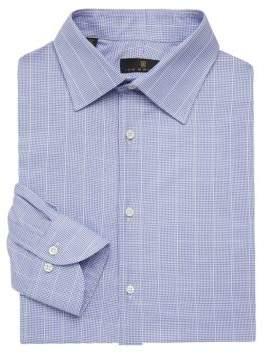 Ike Behar Regular-Fit Graph Check Dress Shirt