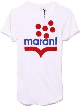 Etoile Isabel Marant White Koldia Tshirt