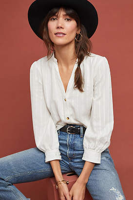 Anthropologie Chelsea Striped Tunic